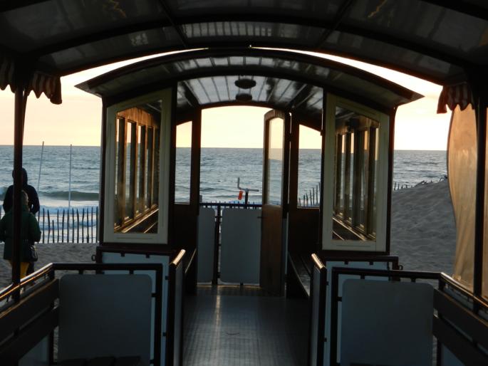 Le P'tit train de St Trojan Train touristique l'ile d'Oléron