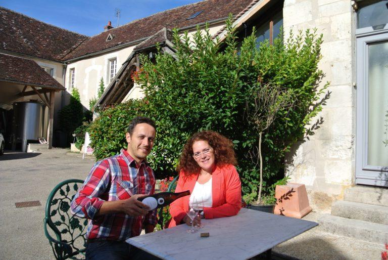 Vignerons en Bourgogne, Églantine et Benjamin Borgnat à Auxerre