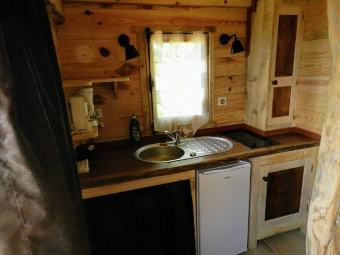 Location Cabane Trappeur, Weekend proche Carcassonne Campras 8