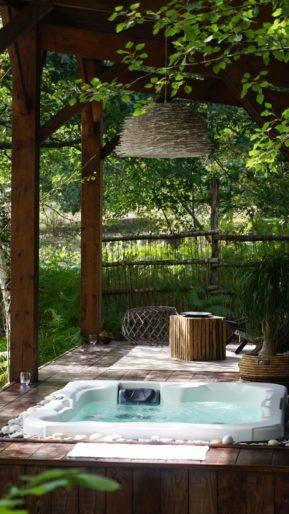 Cabane Le Lodge et son Spa, luxe, calme et volupté en Gironde proche de Bordeaux