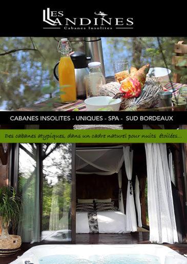 Cabane Le Lodge et son Spa, Les Landines Origne