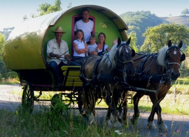Drôme Roulottes Vacances, séjour en Roulotte itinérante