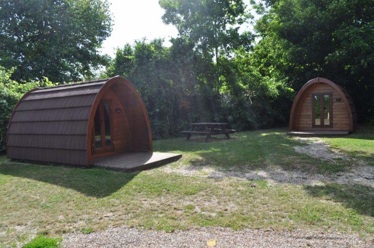 Location de Pod, Camping des Fosses Rouges à Saint-Marcel en Normandie