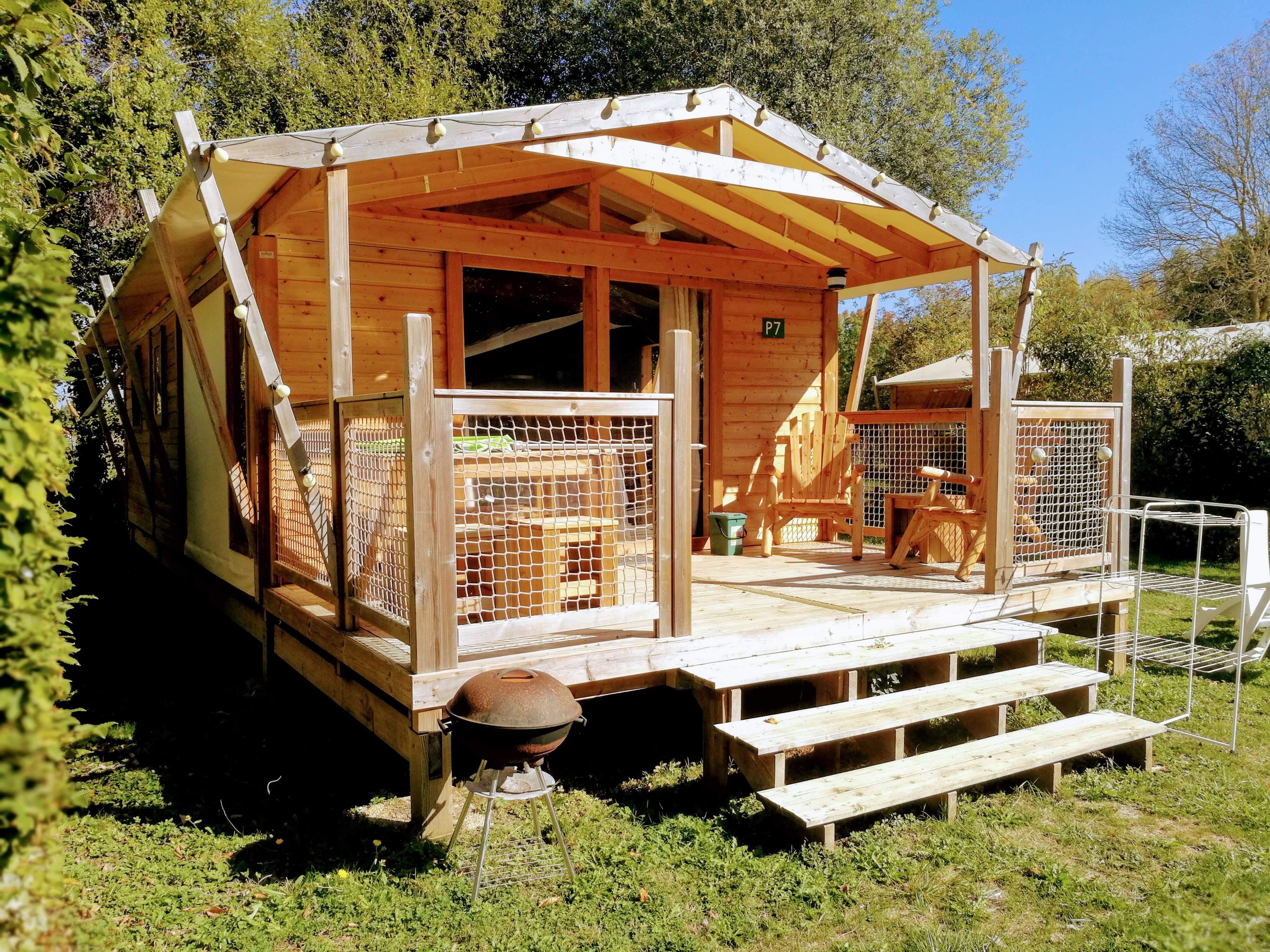 Camping **** Domaine de l'Etang à Brissac Quincé