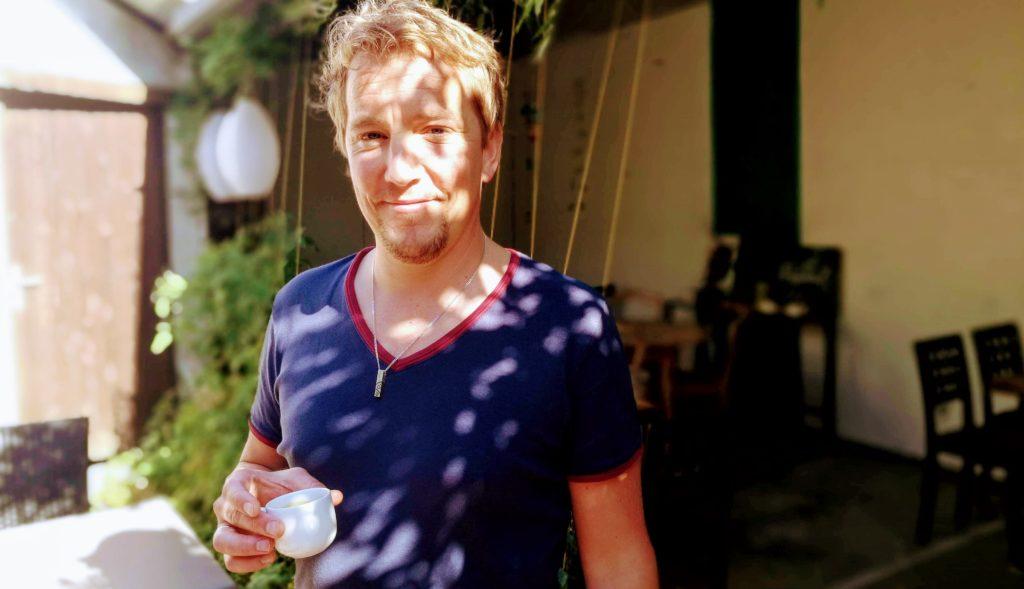 Nicolas Lachèvre pour le Restaurant l'Ardoise à Brissac-Quincé (49)
