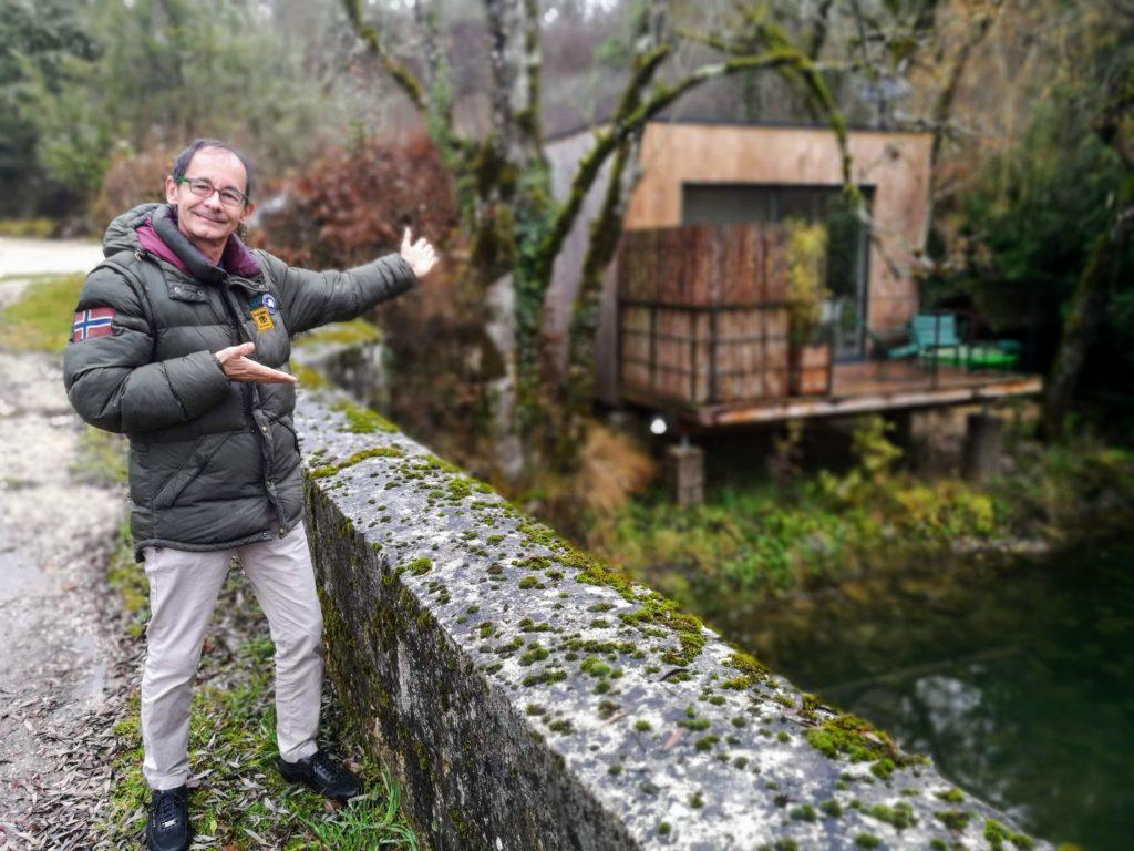 Frédéric Dansert Le Cube : domaine Pont-Roche et SPA Weekend Bourgogne