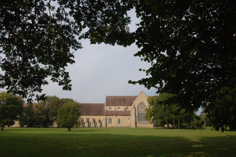 Abbaye vue d'ensemble Abbaye-de-l-Epau-Le-Mans Visite historique de l'Abbaye Royale de l'Epau au Mans visite-historique-abbaye-royale-epau-mans-monument-cystercien-cystercienne-moine-yvre-eveque-sarthe-pays-de-la-loire
