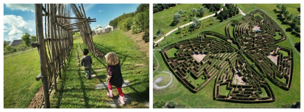 Les Jardins de Colette et son labyrinthe géant en Corrèze Brive la Gaillarde