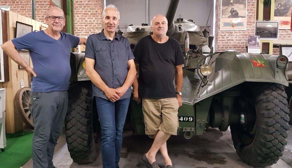Musée militaire de Vincey dans les Vosges musee-militaire-de-vincey-espace-memoire-lorrain-vosges-premiere-deuxieme-guerre-mondiale-vosges-char-combat-fusil-baillonette-tranchee