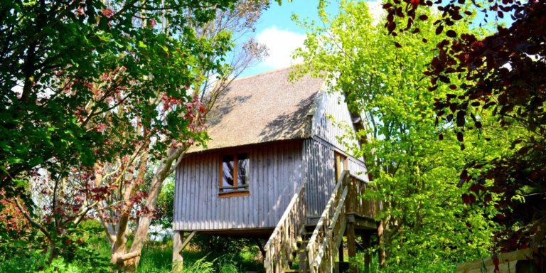 Séjour insolite en cabane en Bretagne, Le Nid d'Iroise Lanildut Finistere
