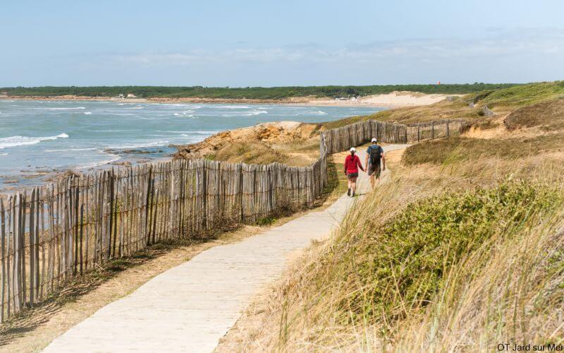 Jard sur mer - Pointe du Payré - Vendée - famille - randonnée