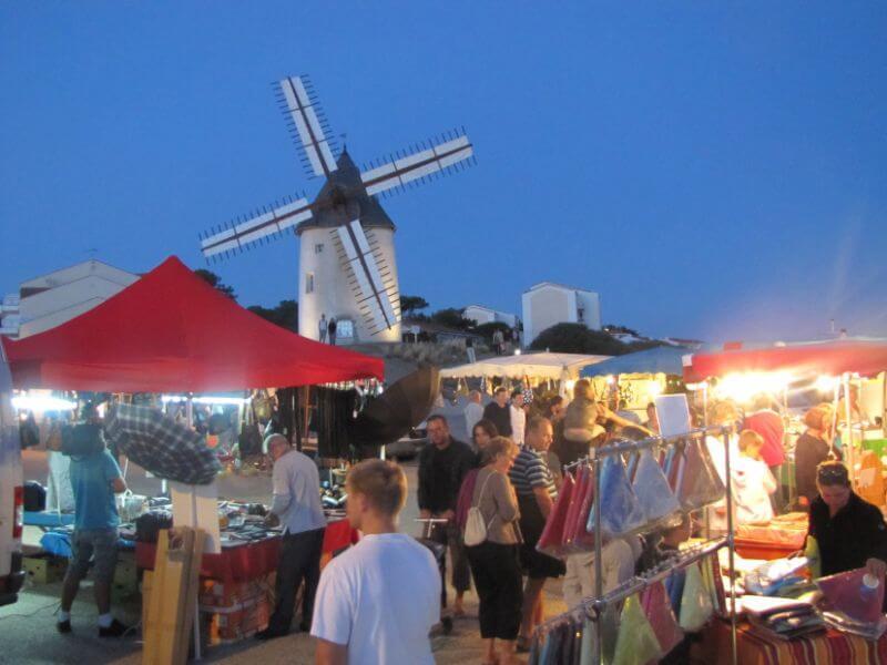 Jard sur mer - port - animations - marché nocturne - famille - plage - Vendée