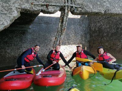 centre-nautique-asnelles-gold-beach-kayak-mer-caissons-Arromanches