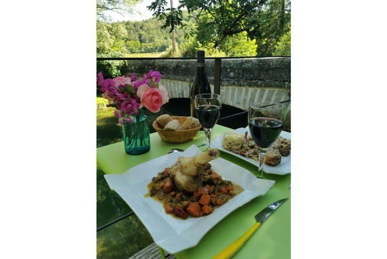 Le comptoir gourmand  - la table de Clotilde -  certifié France Week-End : Souris d'agneau et sa poêle de légumes façon tajine
